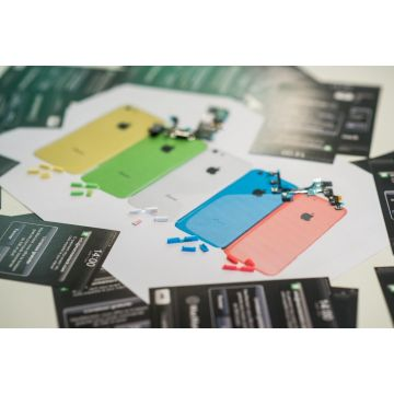 Set of 3 buttons (mute - volume - power) iPhone 5C