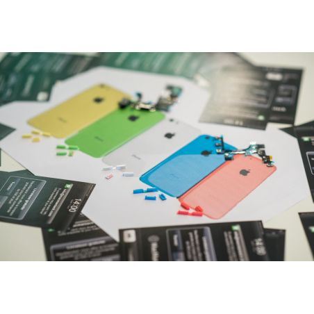 Achat Set 3 boutons mute - power - volume iPhone 5C