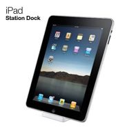 Dock charger station white IPad 2