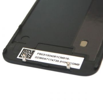 Original Quality Complete Kit : Glass Digitizer & LCD Screen & Frame + Backcover + Button for iPhone 4 Black