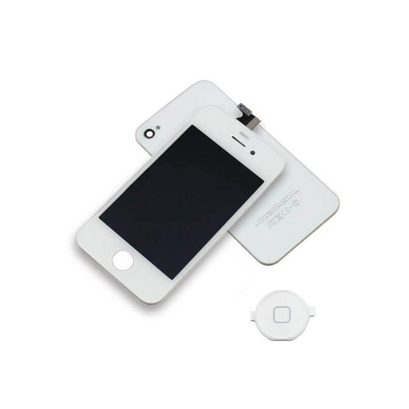 A-Qualität Iphone 4 Touchscreen+Hintergrundabdeckung schwarz