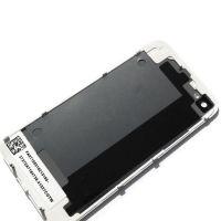 Achat KIT COMPLET qualité originale : Vitre tactile, écran LCD, châssis et vitre arrière pour iPhone 4 Blanc IPH4G-010