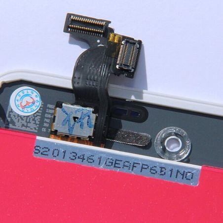Original Glass Digitizer & LCD Screen & Full Frame for iPhone 4S White