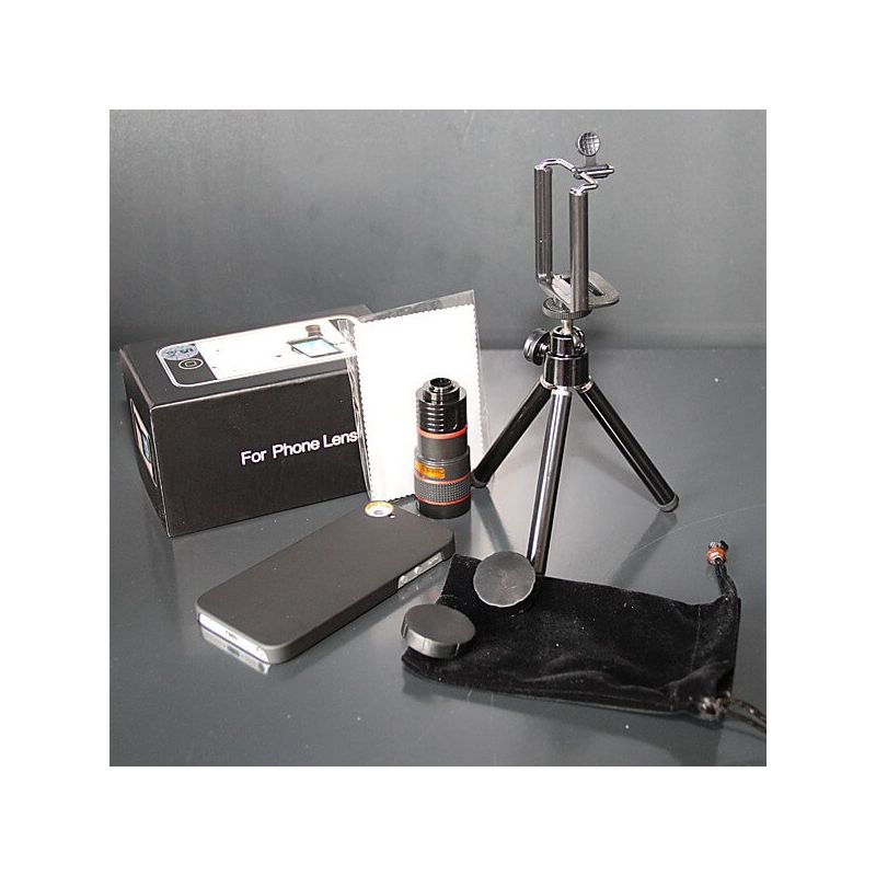 Telescope Zoom X8 with case for iPhone 5