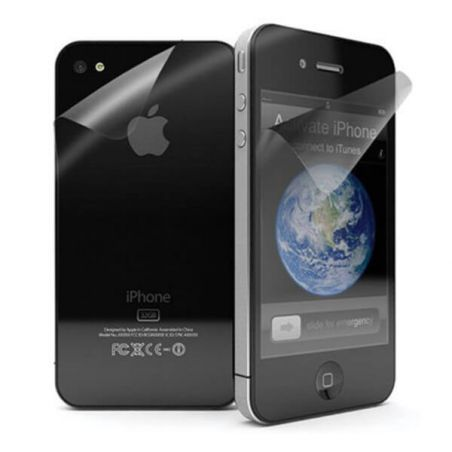 Iphone 4/4S screen protection front and rear panel Mat