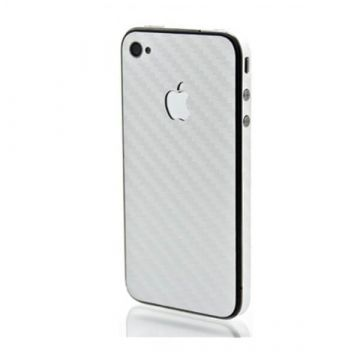 Skin sticker protection look Carbon IPhone 4