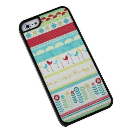 """Hard Case Schale """"Geekslove"""" für iPhone 5, 5S"""
