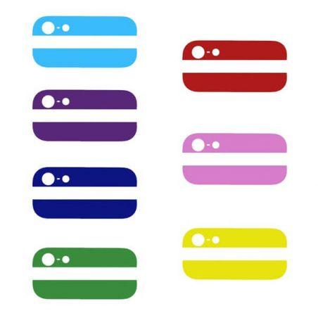 Vitres arrières (supérieure et inférieure) iPhone 5 Couleur