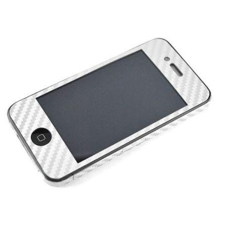 Huidsticker bescherming kijken Koolstof Iphone 4