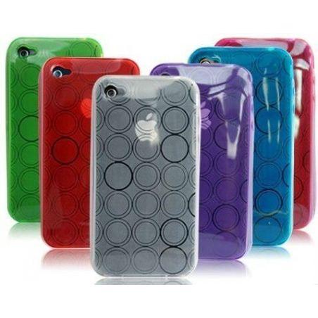 Hülle iSkin für iPhone 3, 3S Grün
