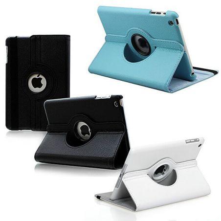 Achat Housse revêtement cuir rotation 360° iPad Mini