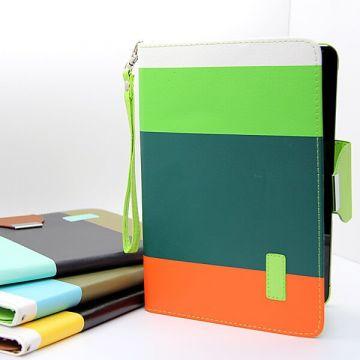 Achat Etui portefeuille Rainbow iPad Mini