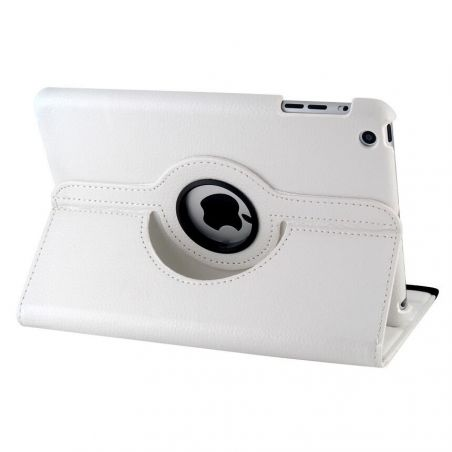 Kunstleder Hülle Umdrehbar 360 ° für iPad Mini