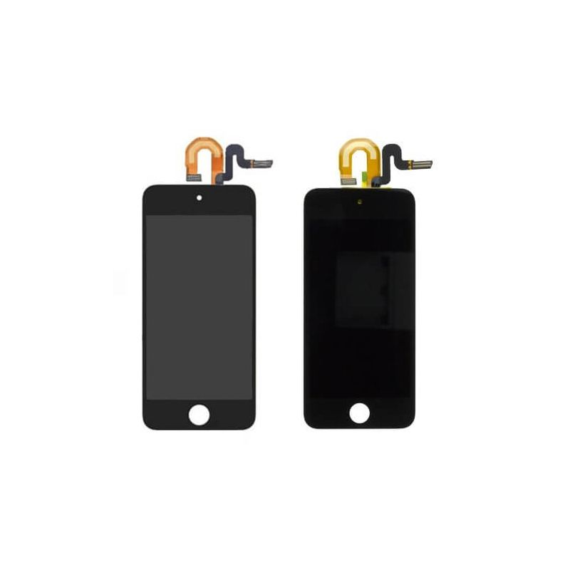 Touch Glass & LCD Screen & Full Frame for iPod Touch 5th Generation Black