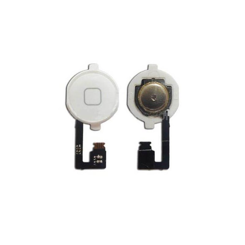 Tafelkleed met home button en witte home button iPhone 4 4S