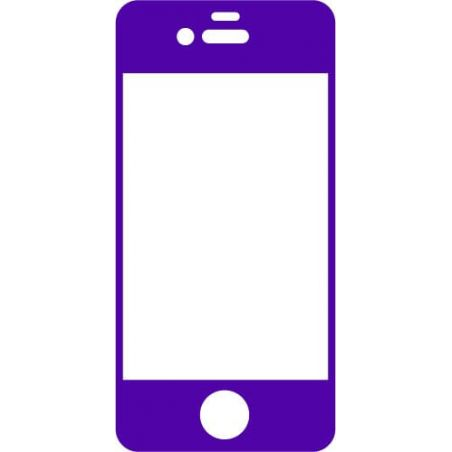 Film protection avant couleur iPhone 4 4S