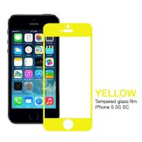 Achat Film Verre Trempé Protection Avant couleur iPhone 5/5S/5C/SE