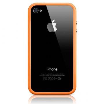 Bumper - Contour TPU Black IPhone 4 & 4S
