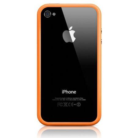 Bumper - Contour TPU Oranje Iphone 4 & 4S