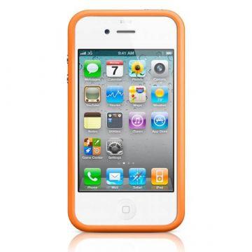 Achat Bumper - Contour TPU Orange IPhone 4 & 4S COQ4X-023X