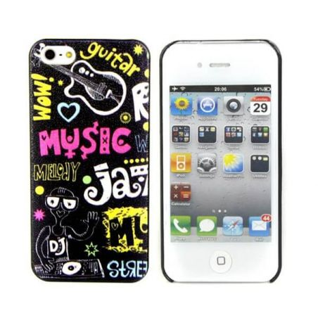 Music Jazz hard cover case iPhone 4 4S