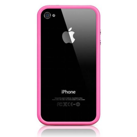 Achat Bumper - Contour TPU Rose IPhone 4 & 4S COQ4X-022X