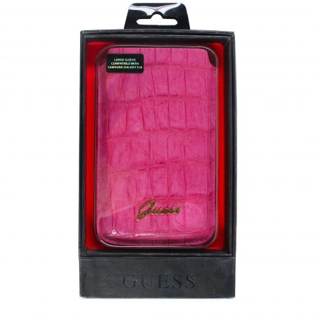 Ik denk dat Croco Roze Universele Croco Cover... Guess iPhone 5 5S SE - 1