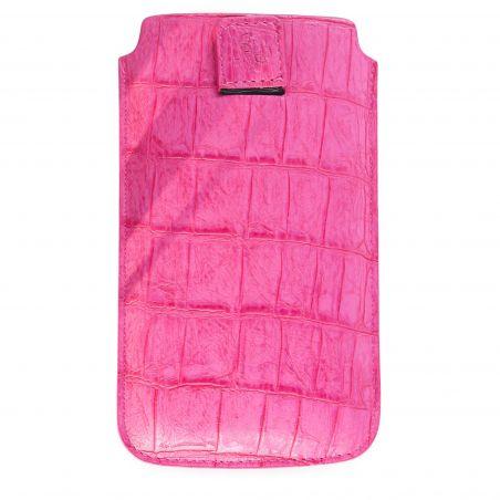 Ik denk dat Croco Roze Universele Croco Cover... Guess iPhone 5 5S SE - 4