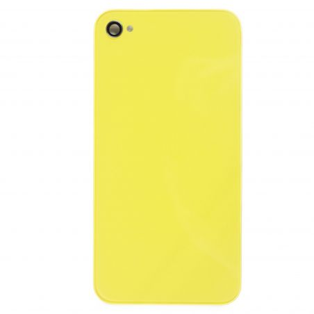 iPhone 4S back cover yellow  Back covers iPhone 4S - 1