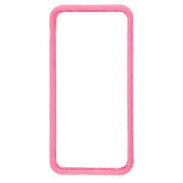 Achat Bumper - Contour TPU Rose et transparent iPhone 5/5S/SE COQ5X-017X