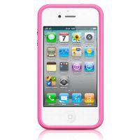 Bumper - Roze TPU-contour Roze Iphone 4 & 4S