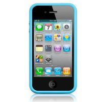 Stoßstange - Contour TPU Schwarzes iPhone 4 & 4S