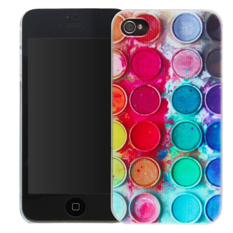 iPhone 4 4 4 4S 4S kleurenpalet verfschelp  Dekkingen et Scheepsrompen iPhone 4 - 1