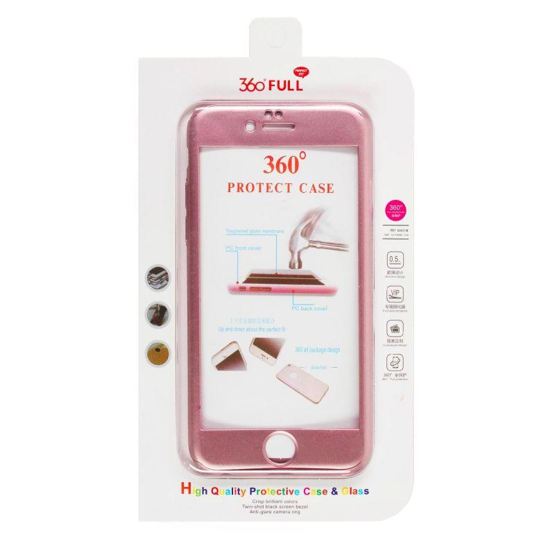 Achat Coque de protection 360° avec film en verre trempé iPhone 6 ...