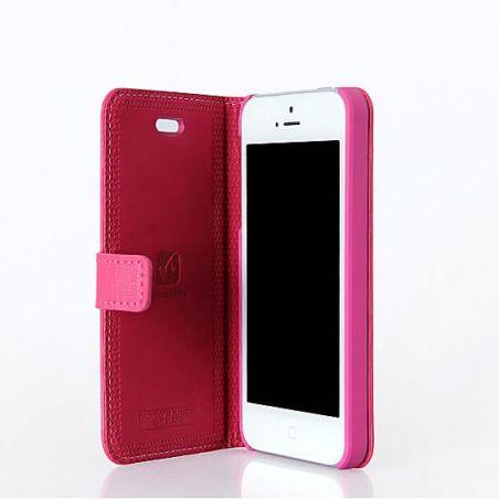 Achat Etui portefeuille Hoco édition Happy Series iPhone 5/5S/SE