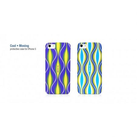 Hoco Cool Moving coque de protection ondulation iPhone 5/5S/SE