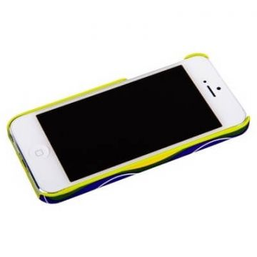 Cool Moving protective shell green apple iPhone 5 5S