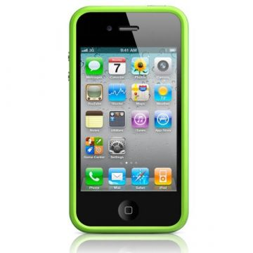 Bumper - Contour TPU Black IPhone 4 & 4S
