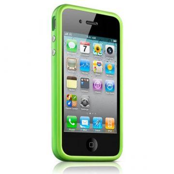 Bumper - TPU-contour Groen TPU IPhone 4 & 4S