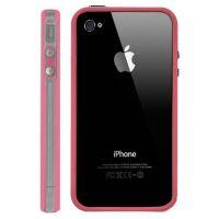 Achat Bumper - Contour TPU Rose & Transparent IPhone 4 & 4S COQ4X-010X