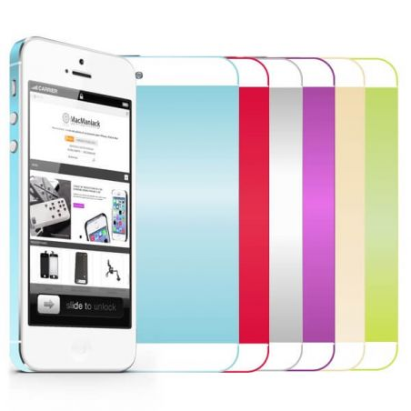 iPhone 5 colored metal frame and contour