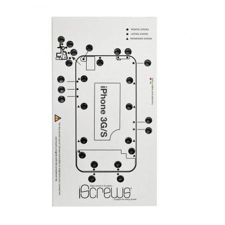 iScrews Matte der Schrauben für iPhone 3G 3GS iScrews Organisationswerkzeuge - 1
