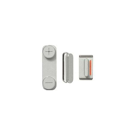Set of 3 buttons (mute - volume - power) iPhone 5S  Spare parts iPhone 5 - 1