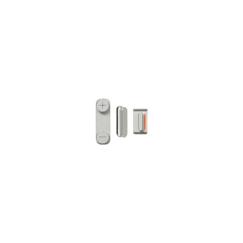 Achat Set de 3 boutons mute - power et volume pour iPhone 4 et 4S IPH4X-011X