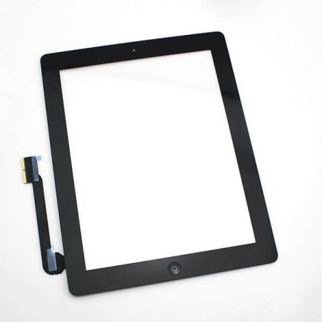 Touch Screen Glass/Digitizer Assembled For iPad 4 Black  Screens - LCD iPad 4 - 1