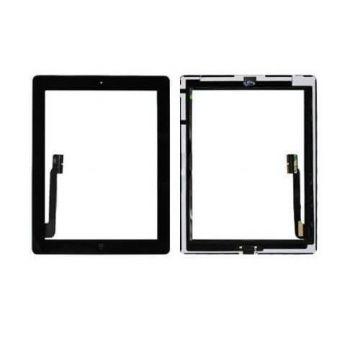Touchscreen zusamengesetzt für iPad 4 Schwarz  Bildschirme - LCD iPad 4 - 2