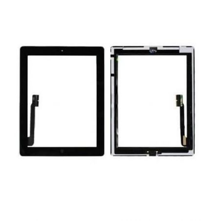 Touch Screen Glass/Digitizer Assembled For iPad 4 Black  Screens - LCD iPad 4 - 2