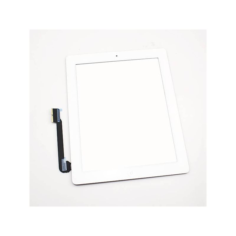Touch Screen Glass/Digitizer Assembled For iPad 4 white  Screens - LCD iPad 4 - 1