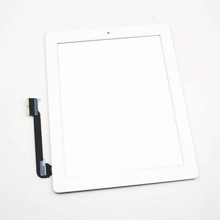 Touch Screen Glass/Digitizer Assembled For iPad 4 white