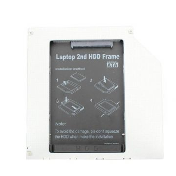 "9.5mm SATA Unibody Dual Drive Adapter  MacBook Pro 13"" Unibody Mi 2009 spare parts (A1278 - EMC 2326) - 3"